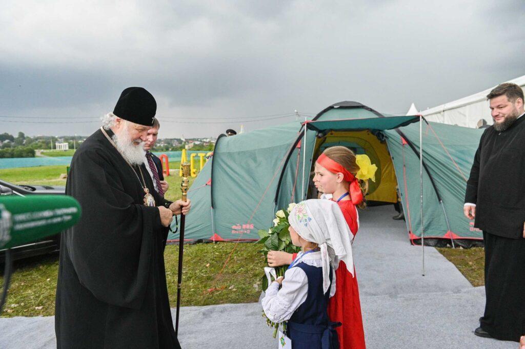 Ο Μακαριώτατος Πατριάρχης Μόσχας στα Κοινωνικά Μέσα Δικτύωσης για καλό σκοπό