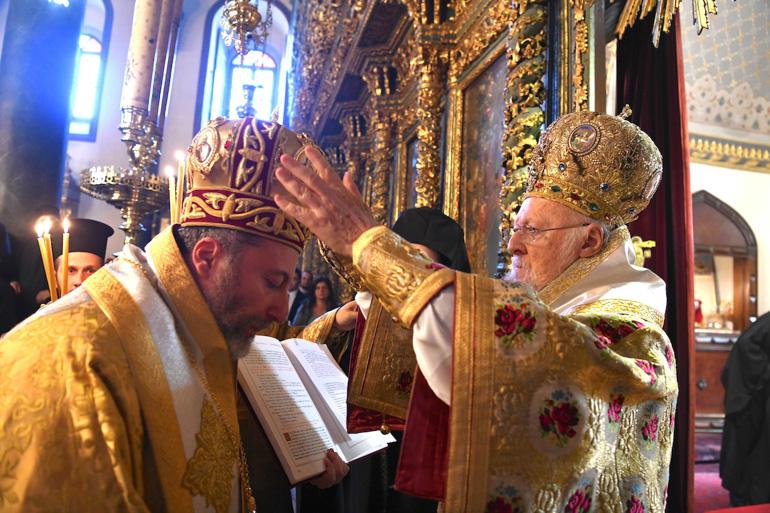 Χειροτονία του Επισκόπου Τράλλεων Βενιαμίν στο Φανάρι