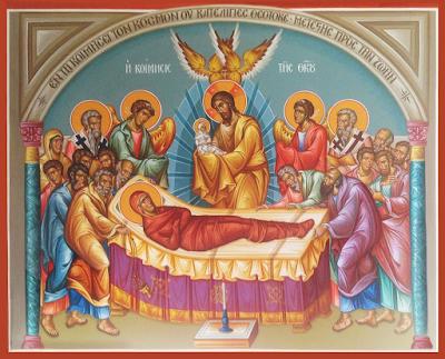 Τελετουργικά θέματα (Ϟε΄) Οι Καταβασίες της Εορτής της Κοιμήσεως της Θεοτόκου - Από τον Λειτουργιολόγο Γεώργιο Ζαραβέλα