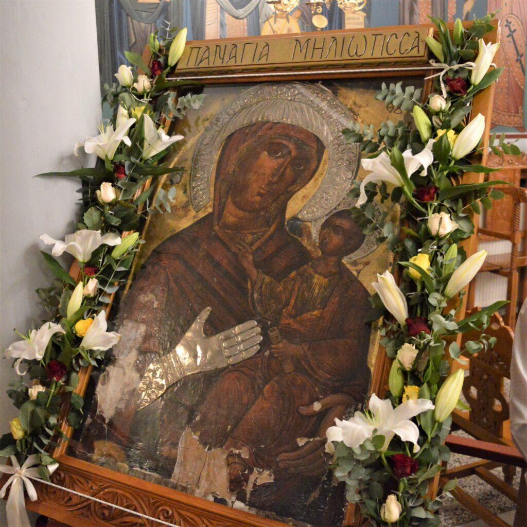 Θρησκευτική Πανήγυρις Παναγίας της «Μηλιώτισσας» στη Μηλιά Αλμωπίας