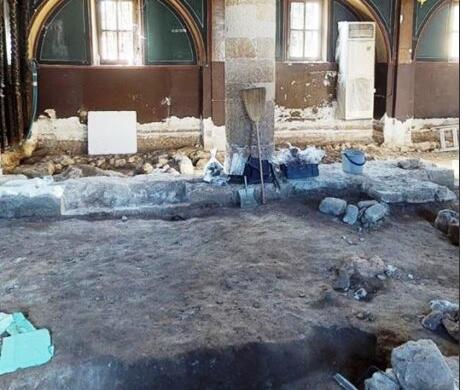 Τάφοι και Λείψανα Μητροπολιτών κάτω από την Ιερά Μητρόπολη Ρόδου