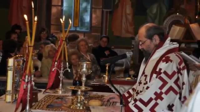 Πώς γίνεται η Θεία Κοινωνία - Ερμηνεία Θείας Λειτουργίας (VIDEO)