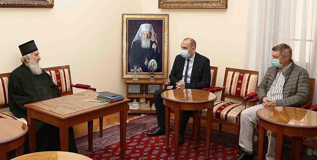 Μακαριώτατος Πατριάρχης Σερβίας και Υπουργός Υγείας καλούν σε τήρηση των μέτρων