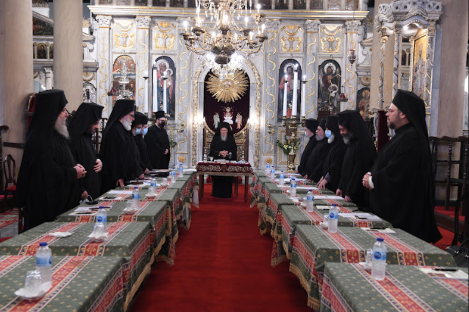 Το Ανακοινωθέν της Αγίας και Ιεράς Συνόδου του Οικουμενικού μας Πατριαρχείου για τις εξελίξεις στην Ιερά Αρχιεπισκοπή Αμερικής