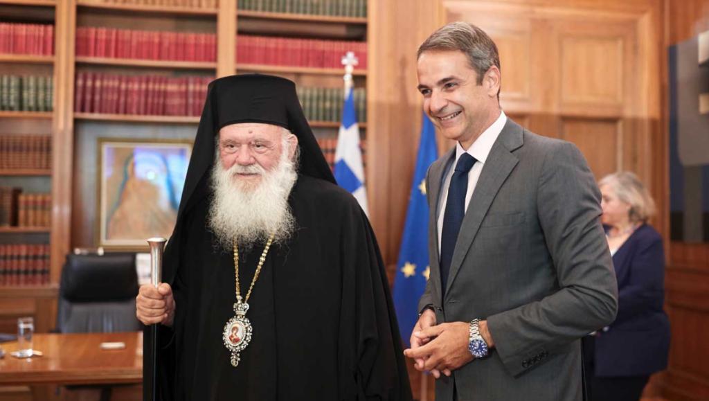 Συναντήθηκαν Πρωθυπουργός και Αρχιεπίσκοπος