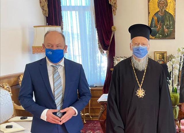 Συνέντευξη του ΑΓΥ Ιωάννη Ορφανουδάκη-Φώσκολου στο «Ρωμαλέω φρονήματι» μετά την επίσκεψή του στο Οικουμενικό Πατριαρχείο