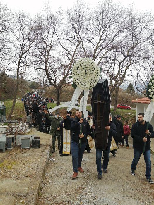 Προσοτσάνη: Κηδεία Ιερέως παρουσία 2000 ατόμων