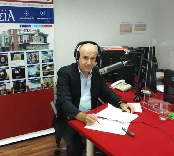 Ο Πανος Αβραμόπουλος υποδέχεται στην εκπομπή «Πνευματικοί Αντίλαλοι» τον Σεβασμιώτατο Μητροπολίτη Σύρου κ.  Δωρόθεο και συζητούν: για το μείζον ιστορικό μας ορόσημο της Εθνικής Παλιγγενεσίας του ΄21