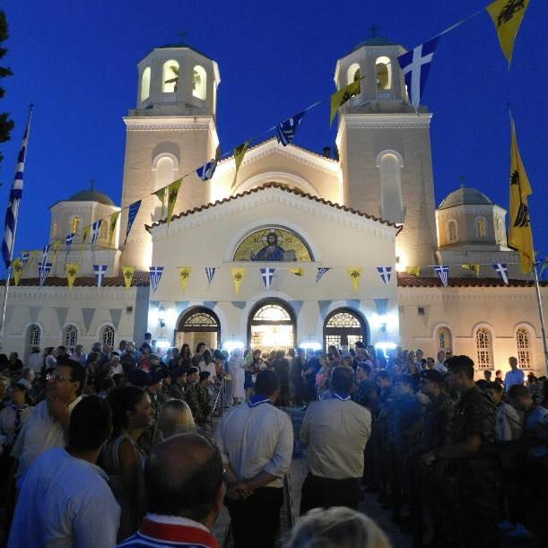 Παρακολουθήστε σε Επανάληψη από τον Μητροπολιτικό Ιερό Ναό Μεταμορφώσεως του Σωτήρος ομωνύμου Δήμου Αττικής την Κυριακάτικη Θεία Λειτουργία (VIDEO  -  13/06/2021)