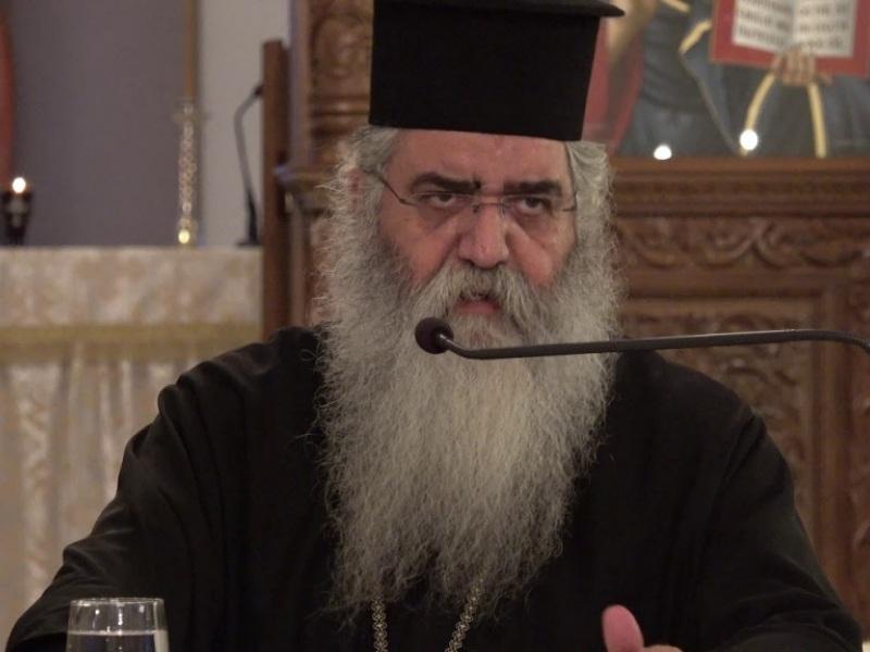 """Η Εκκλησία της Ελλάδος έστειλε Συστάσεις στην Εκκλησία της Κύπρου να """"μαζέψει"""" τον Πανιερώτατο Μητροπολίτη Μόρφου κ. Νεόφυτο (VIDEO)"""