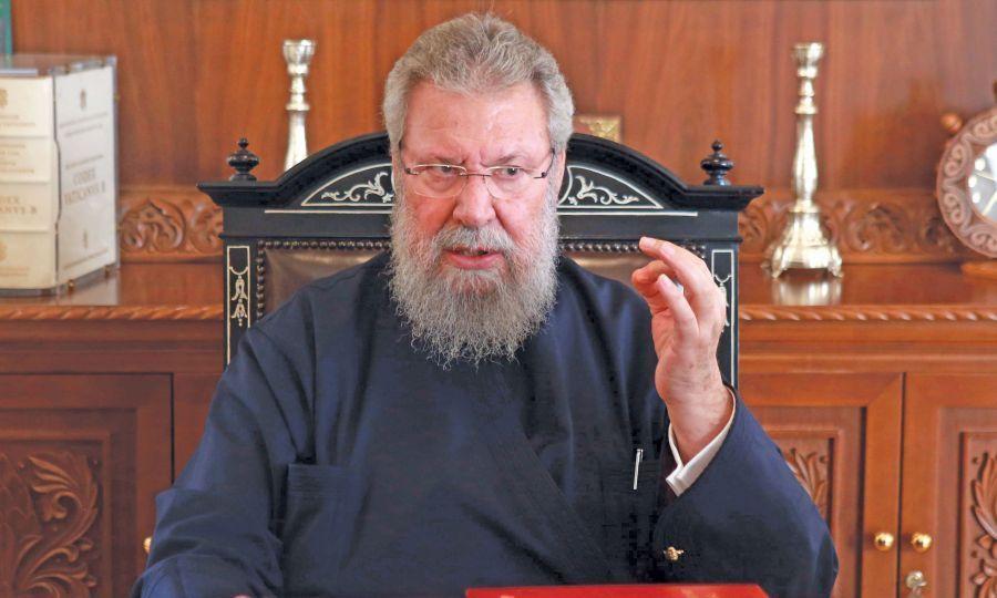 Μακαριώτατος Αρχιεπίσκοπος Κύπρου κ. Χρυσόστομος: Ας ενοχλούνται οι Τούρκοι με αυτά που λέω, δεν με πειράζει