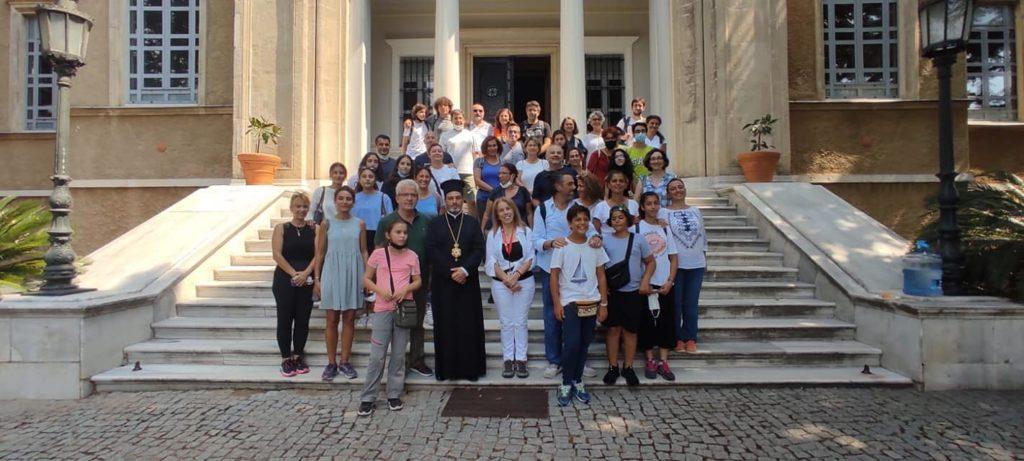 Επίσκεψη Αρμενίων Χριστιανών στην Θεολογική Σχολή της Χάλκης