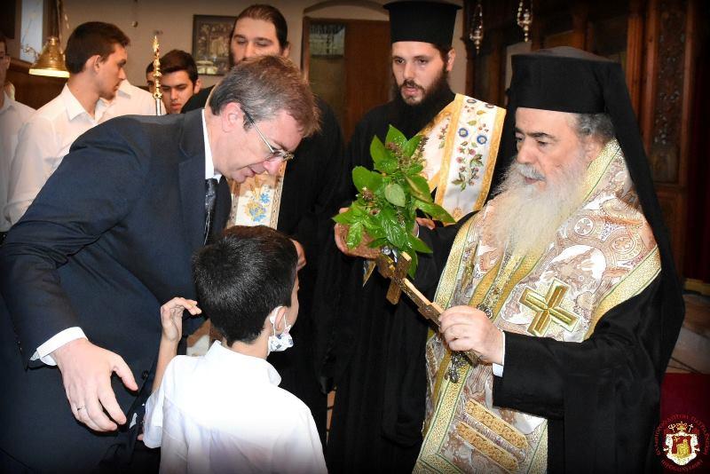Η Έναρξη του Νέου Σχολικού Έτους στην Πατριαρχική Ιερατική Σχολή του Πατριαρχείου Ιεροσολύμων για το 2021 - 2022