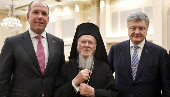 Ο Paul Grod συζήτησε με τον Οικουμενικό Πατριάρχη τροποποίηση του Τόμου