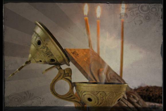 Τί συμβολίζει το θυμιατό και το θυμίαμα σύμφωνα με τους Αγίους της Aνατολικής Oρθόδοξης Eκκλησίας του Xριστού