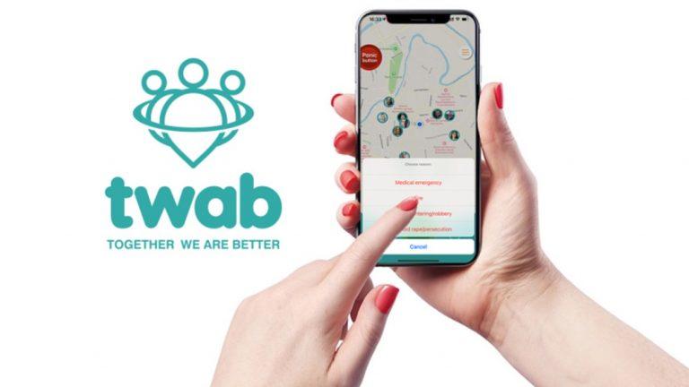 TWAB: Η Εφαρμογή για κινητά τηλέφωνα με «κουμπί πανικού»