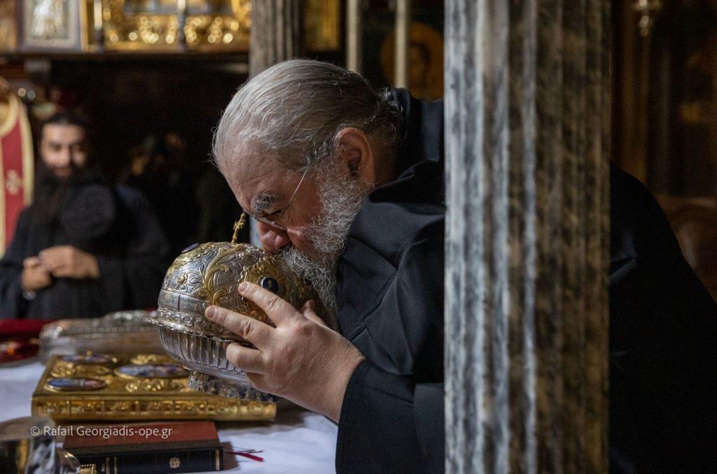 ΑΓΙΟΝ ΟΡΟΣ: Πανηγυρικά η Μνήμη του Αγίου Ευδοκίμου του Βατοπαιδινού (VIDEO)